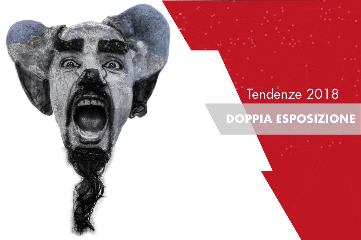 Doppia esposizione – Trend nel graphic design 2018
