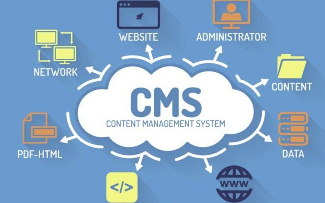 I CMS (Content Management Systems) più comuni per i siti web