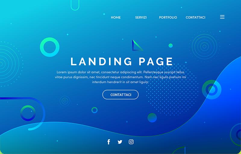 Landing page in un sito web: quanto è importante